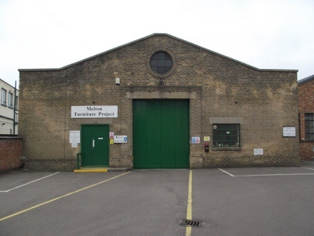 The Melton And District Furniture Project's Warehouse From The Front