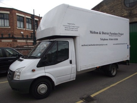The Melton And District Furniture Project's Van