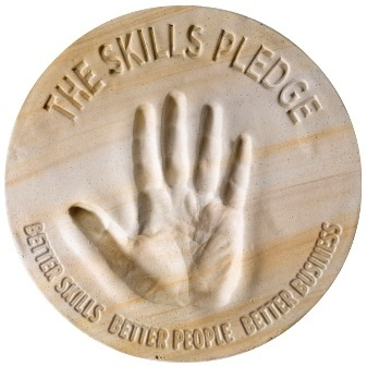 Skills Pledge Logo (Click To Open Website In A Browser)